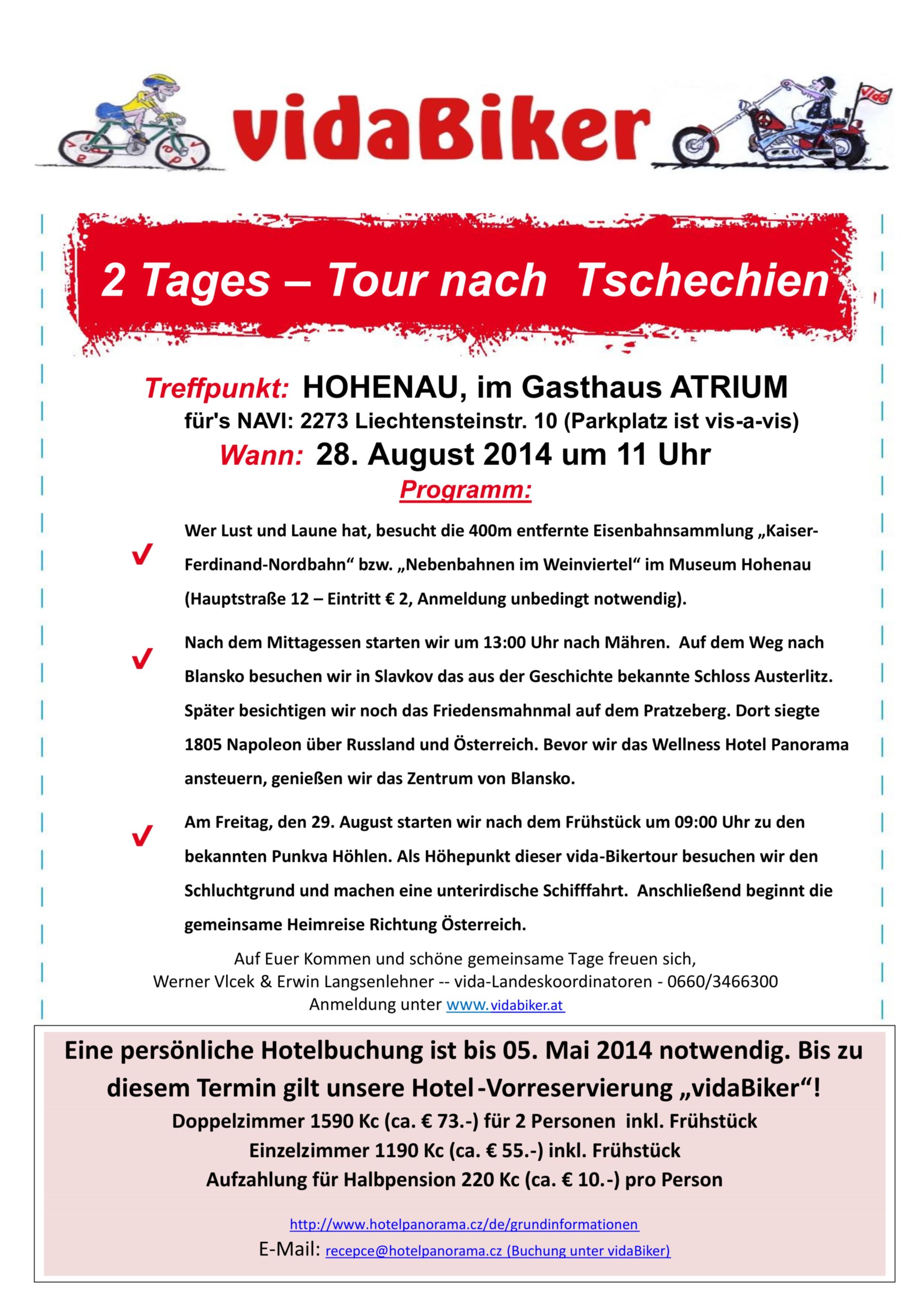 2TageTour_nach_Tschechien_Plakat_A4